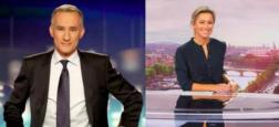 Audiences 20h: TF1 et France 2 se rapprochent avec moins de 500.000 téléspectateurs d'écart entre les deux chaînes