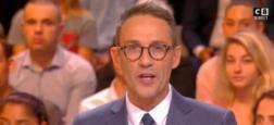 """Audiences: """"C'est que de la télé"""" avec Julien Courbet grimpe encore à 379.000 en pré-access sur C8 et bat son record"""