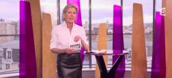 """Claire Chazal va remplacer Christine Angot comme chroniqueuse samedi 4 novembre dans """"On n'est pas couché"""" sur France 2"""