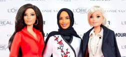 Mattel  va lancer la première poupée Barbie voilée en l'honneur de l'escrimeuse américaine Ibtihaj Muhammad