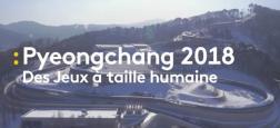 """Les jeux Olympiques d'hiver de Pyeongchang, en février en Corée du Sud, seront """"quasiment 24H sur 24"""" sur les chaînes de France Télévisions"""