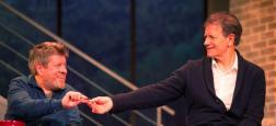 """C8 diffusera en direct la pièce de théâtre écrite par Laurent Ruquier """"A droite, à gauche"""" avec Francis Huster et Régis Laspalès le samedi 10 février à 21h"""