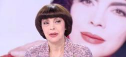 """L'interview cash de Mireille Mathieu: """"Je suis fâchée à vie avec Laurent Ruquier et Yann Barthès. Cyril Hanouna n'est pas celui qu'on croit"""""""