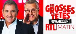 """Mercredi prochain à 9h sur RTL, Laurent Ruquier et """"Les Grosses têtes"""" vont """"envahir"""" l'émission d'Yves Calvi"""