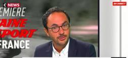 Arnaud de Courcelles va quitter la direction de la chaîne L'Equipe peu après le départ du directeur général du groupe L'Equipe, Cyril Linette