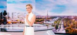 Audiences 20h: Très large domination d'Audrey Crespo-Mara avec plus de 8 millions hier soir sur TF1 mais Thomas Sotto résiste bien à 6,2 millions sur France 2