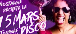 Ce vendredi, Nostalgie décrète la journée du disco avec une programmation spéciale qui démarrera dès 6 heures du matin !