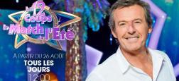 """Le jeu """"Les 12 coups de midi, le match de l'été"""", présenté par Jean-Luc Reichmann, a réalisé hier midi un record de l'année sur TF1"""