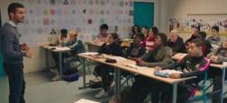 """""""La vie scolaire"""", film de Grand Corps Malade et Mehdi Idir sur un collège de banlieue parisienne, reste à la première place du box office français"""
