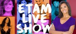 Pour la première fois, Karine Le Marchand présentera l'Etam Live Show diffusé le mardi 24 septembre prochain à 23h10 sur W9