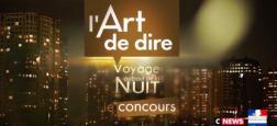 """Le jury du concours """"L'art de dire, voyage au bout de la nuit"""", lancé par C8, a dévoilé le nom des trois lauréats"""