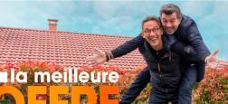 """Stéphane Plaza et Julien Courbet aux commandes d'une nouvelle émission, """"La meilleure offre"""", dès le jeudi 17 octobre en prime-time sur M6"""