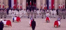 Audiences: La cérémonie d'hommage aux 13 soldats tués au Mali a réuni 1,8 million de téléspectateurs hier après-midi sur France 2