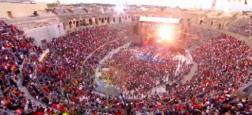 """L'émission de TF1 """"La chanson de l'année"""", présentée par Nikos Aliagas, ne sera plus diffusée depuis les Arènes de Nîmes"""