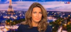 Audiences 20h: Anne-Claire Coudray affiche un million de téléspectateurs de plus sur TF1 que Laurent Delahousse sur France 2 pour les journaux hier soir