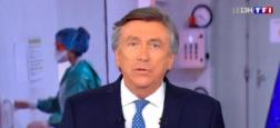 Audiences 13h: Jacques Legros sur TF1 largement leader à plus de 8,2 millions - Jean-Baptiste Marteau sur France 2 à 4,9 millions