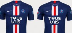 Coronavirus - Le club de foot parisien PSG met en vente 1.500 maillots inédits pour soutenir les hôpitaux de Paris