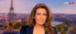 Audiences 20h: Le journal d'Anne-Claire Coudray s'envole sur TF1 à près de 8 millions de téléspectateurs avec quasiment 2 millions de plus que celui de France 2