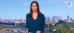 Audiences 13h: Le JT de TF1 d'Anne-Claire Coudray fait le double de celui de France 2 présenté par Sophie Le Saint avec 8,6 millions de téléspectateurs