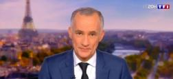 Audiences 20h: Le journal de Gilles Bouleau large leader sur TF1 à plus de 6 millions - Celui d'Anne-Sophie Lapix sur France 2 à moins de 5 millions