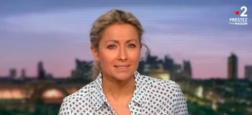 Audiences 20h: Le JT de TF1, présenté par Gilles Bouleau, leader à 5,5 millions - Celui de France 2 d'Anne-Sophie Lapix à 4,7 millions