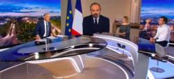 Audiences prime: Le 20h de TF1 avec Edouard Philippe, prolongé jusqu'à 22h, large leader à 8.5 millions - La série d'M6 très puissante à plus de 4 millions