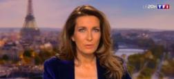 Audiences 20h: Le journal d'Anne-Claire Coudray reste puissant avec près de 7 millions de téléspectateurs - 5,4 millions pour Laurent Delahousse sur France 2