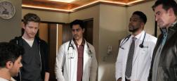 """Audiences prime: La série médicale de TF1 """"The Resident"""" reste leader à plus de 4 millions mais M6 est dans la foulée avec """"Top chef"""" à 3.8 millions"""