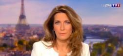 Audiences 20h: Grosse audience pour Anne-Claire Coudray sur TF1 qui frôle 7,5 millions de téléspectateurs contre 5,7 millions pour Laurent Delahousse sur France 2