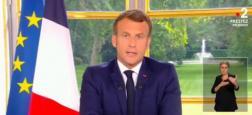 Audiences 20h: 23,6 millions de téléspectateurs ont suivi l'allocution d'Emmanuel Macron sur TF1, France 2, France 3, M6 et sur les chaînes info