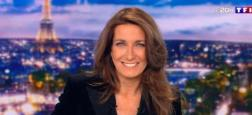 Audiences 20h: le journal d'Anne-Claire Coudray s'envole hier soir sur TF1 avec plus de 7 millions face à Laurent Delahousse sur France 2 à 5,4 millions