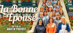 """Cinéma: """"La Bonne épouse"""" avec Juliette Binoche, de retour en salles fin juin après une sortie avortée en mars, reste en tête du box-office pour la deuxième semaine consécutive"""