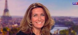 Audiences 20h: Large domination du journal d'Anne-Claire Coudray sur TF1 avec 1,2 million de plus que celui de Laurent Delahousse sur France 2