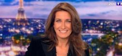 """Audiences 20h: Le journal de TF1 leader avec 5 millions et 600.000 téléspectateurs de plus que France 2 - """"Quotidien"""" reste au dessus du million sur TMC"""