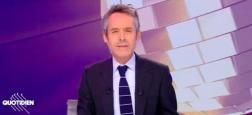 """Audiences Avant 20h: La première partie de """"Quotidien"""" sur TMC pour la première fois, à égalité parfaite avec """"C à vous"""" sur France 5 à 1,4 million"""