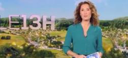 Audiences: Triomphe pour Marie-Sophie Lacarrau pour ses débuts au 13h de TF1 à 6,5 millions soit le double de France 2 et de la première de Julian Bugier