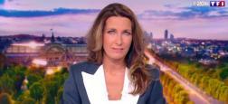 Audiences 20h: Anne-Claire Coudray prend le large sur TF1 avec 2 millions de téléspectateurs de plus que Laurent Delahousse sur France 2