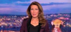 Audiences 20h: Le journal d'Anne-Claire Coudray s'envole sur TF1 et dépasse les 7,2 millions de téléspectateurs face à Thomas Sotto sur France 2 à 5,9 millions