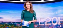 Audiences 20h: Plus de 1,6 millions de téléspectateurs d'écart hier soir entre les journaux de TF1 avec Anne-Claire Coudray et de France 2 avec Laurent Delahousse