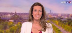 Audiences 20h: Le journal d'Anne-Claire Coudray très fort hier soir avec plus de 7,2 millions sur TF1 face à Laurent Delahousse sur France 2 sous les 6 millions