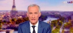 """Audiences 20h: Le journal de TF1 leader avec 6,5 millions - """"Quotidien"""" sur TMC et """"TPMP"""" sur C8 entre 1,5 et 2 millions de téléspectateurs hier soir"""