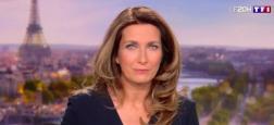 Audiences 20h: Anne-Claire Coudray sur TF1 très largement en tête avec 1,6 million de téléspectateurs de plus que Thomas Sotto sur France 2