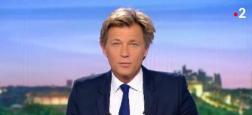 Audiences 20h: Laurent Delahousse en forme sur France 2 se rapproche de Anne-Claire Coudray sur TF1 avec seulement 400.000 téléspectateurs d'écart