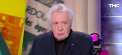 """Audiences 20h: Le JT de TF1 de Gilles Bouleau leader à 6 millions - """"Scènes de ménages"""" sur M6 à 4,8 millions - Avec Michel Sardou, """"Quotidien"""" sur TMC à 2,2 millions"""