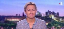 """Audiences 20h: Beau score de Anne-Sophie Lapix hier sur France 2 qui s'approche de Gilles Bouleau sur TF1 - """"Scènes de ménages"""" retrouve des couleurs à 4 millions sur M6"""