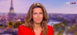 Audiences 20h:  Anne-Claire Coudray très puissante hier soir sur TF1 avec 1,5 million de téléspectateurs de plus que Laurent Delahousse sur France 2