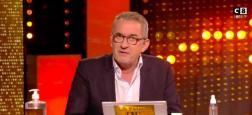 """Audiences 20h: TF1 leader avec Gilles Bouleau - """"Quotidien"""" en hausse sur TMC avec 1,8 million - Le jeu de Dechavanne sur C8 passe les 600.000 téléspectateurs"""