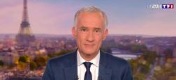 """Audiences 20h: Gilles Bouleau reste leader sur TF1 - """"Scènes de ménages"""" toujours à 3,6 millions sur M6 - """"Quotidien"""" sur TMC remonte à plus de 1,6 millions"""