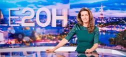 Audiences 20h: Le journal d'Anne-Claire Coudray sur TF1 domine avec 1 million de téléspectateurs de plus que celui de Laurent Delahousse sur France 2