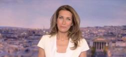 Audiences 20h: Anne-Claire Coudray en tête à 20h sur TF1 mais sous la barre des 5 millions de téléspectateurs - Laurent Delahousse sur France 2 à 3,9 millions
